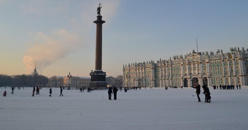 Winter in St Petersburg   © 13020283@N03/Flickr