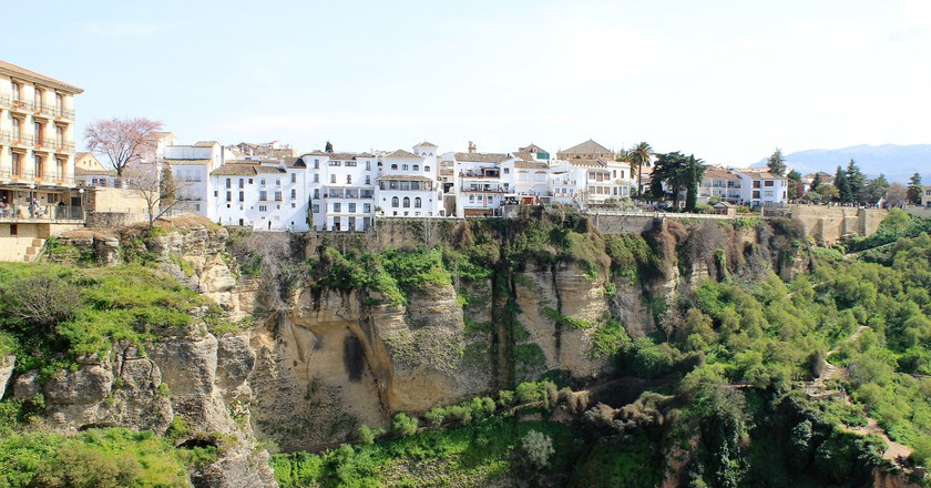 Ronda, Spain on a beautiful day