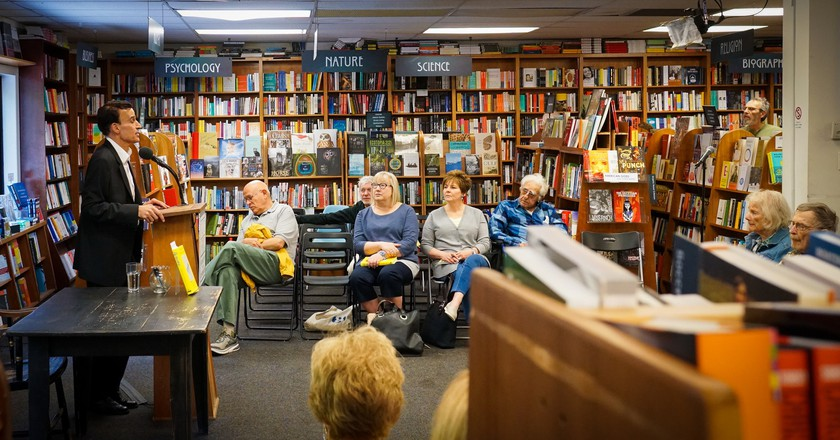Dr. Robert Pearl gives a book talk at Politics and Prose Bookstore