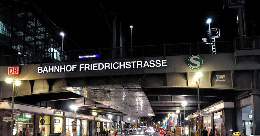 Bahnhof Friedrichstraße At Night   © David Forsman / Flickr