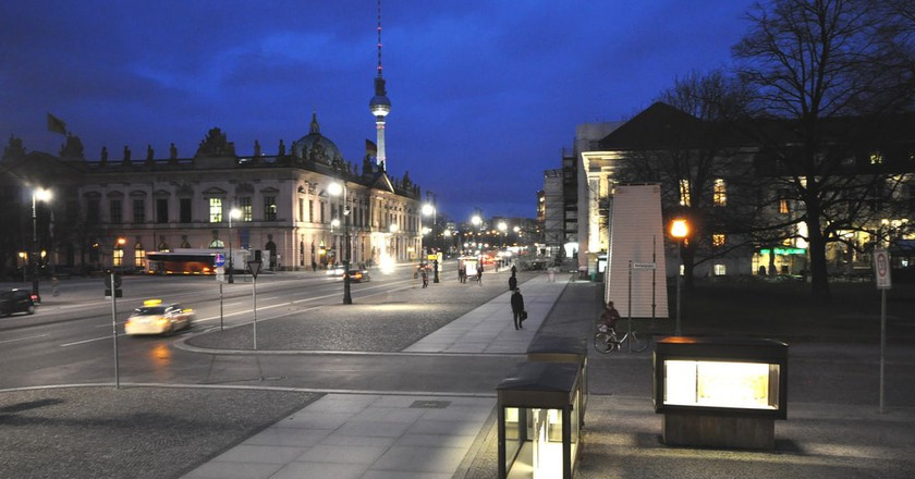 Schlossplatz in Mitte