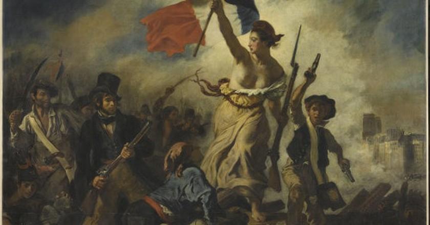 Delacroix 'la Liberté guidant le peuple'
