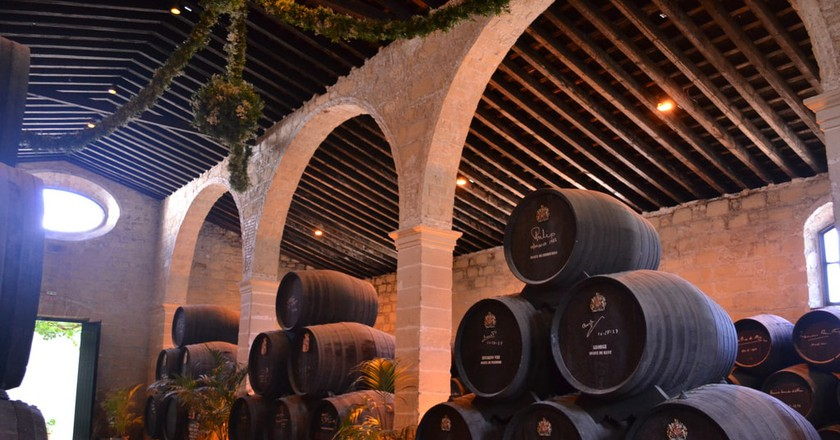 The Gonzalez Byass bodega in Jerez de la Frontera
