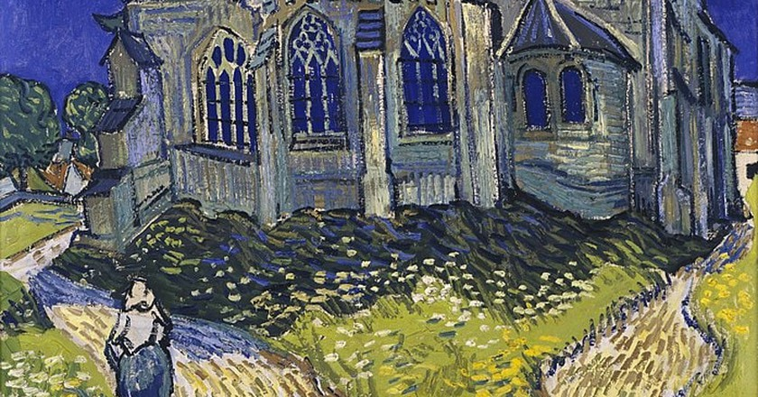 The Church at Auvers by Van Gogh | © 6wEjLceQPXkTtA at Google Cultural Institute / WikiCommons