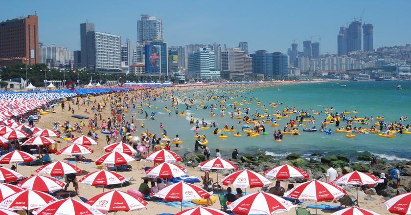 Haeundae Beach, Busan | © Yuseok Oh / Flickr