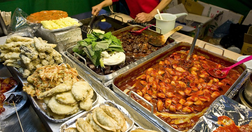 Korea has a wide range of different street food