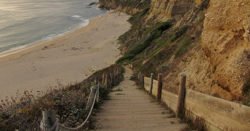 View from Cowell Ranch Beach steps