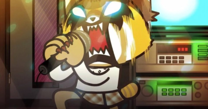 Restusko the Red Panda in Aggretsuko.