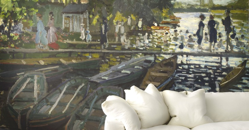 Claude Monet's 'Bathers at Grenouillère'