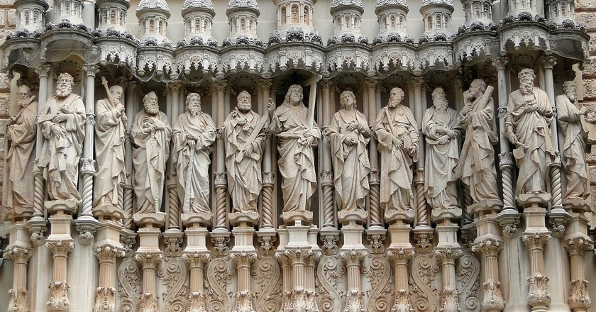 Detail of the twelve apostles CC0 Pixabay