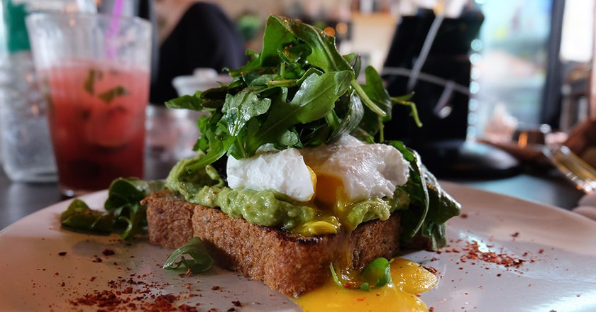 Avocado Toast At The Cliff In Jersey City Nj
