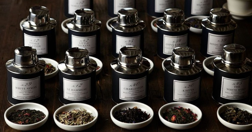 This Gorgeous Brooklyn Tea Salon Is in a Former Pencil Factory