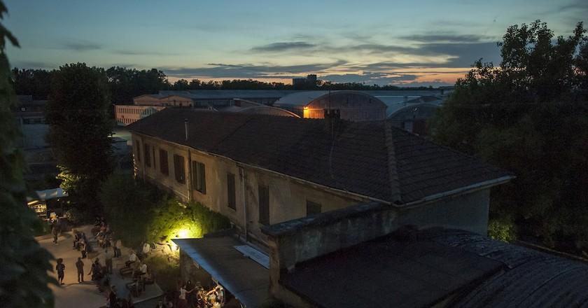 The former industrial complex that now houses Spirit de Milan, Milan | Courtesy Spirit de Milan