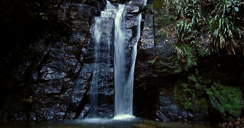 The Cachoeira do Horto waterfall in Rio de Janeiro