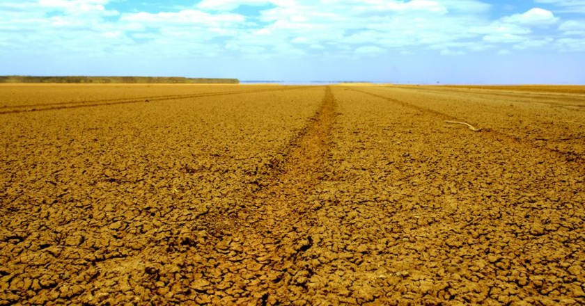 The Chalbi desert in Northern Kenya