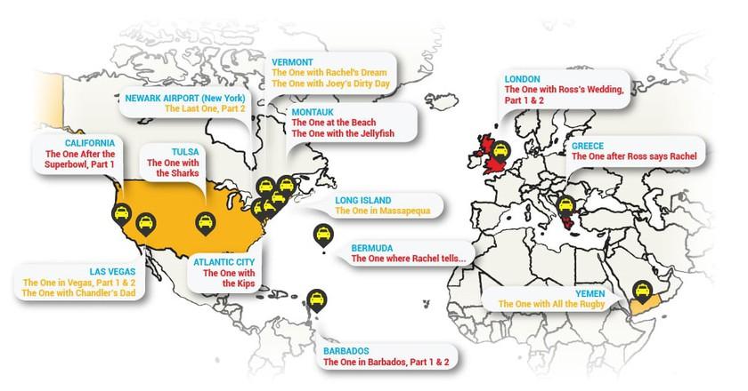 Friends Travel Map