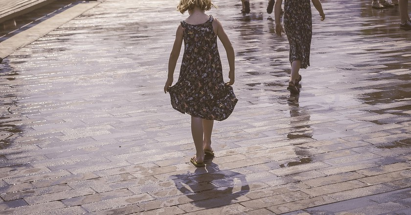 Girls who walk