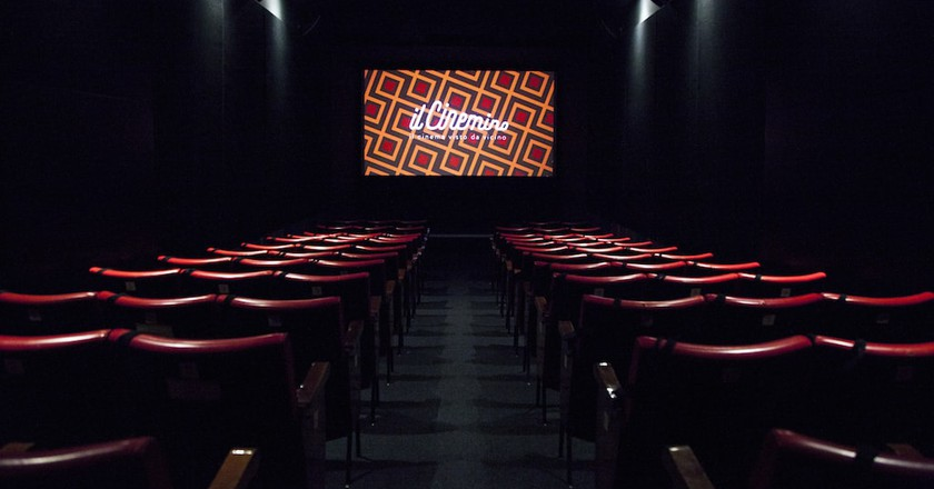 The screening room at Il Cinemino in Porta Romana, Milan | © Carlo Prevosti / Courtesy Il Cinemino