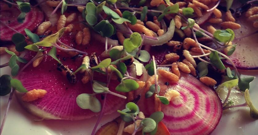 Vegetarian carpaccio