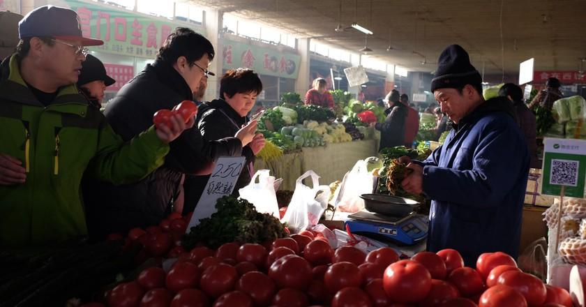 Beijing's food market