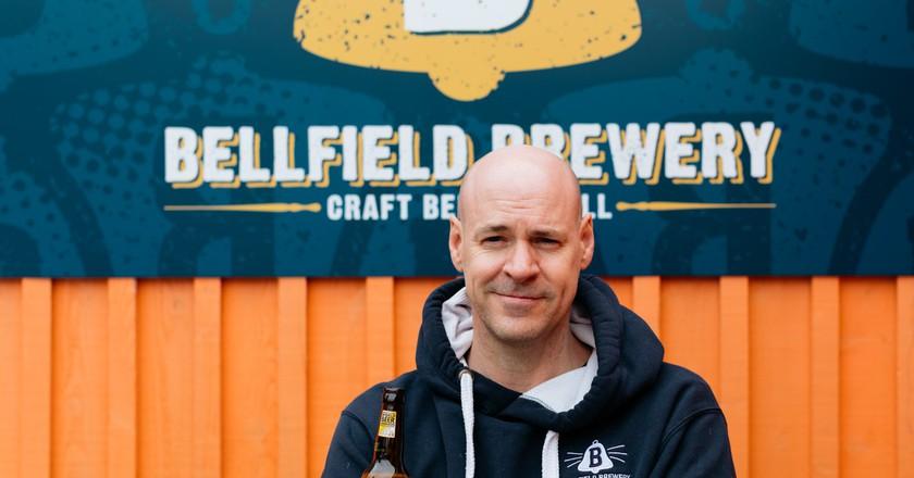 Bellfield Brewery, Edinburgh, Scotland