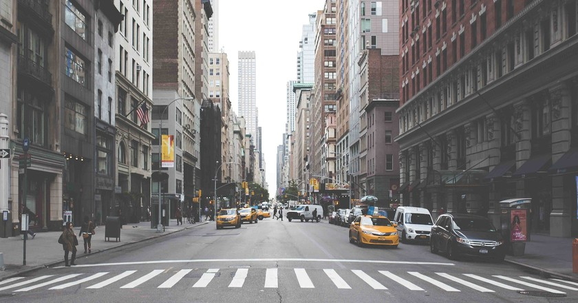 If exploring NYC on the weekend, take a taxi