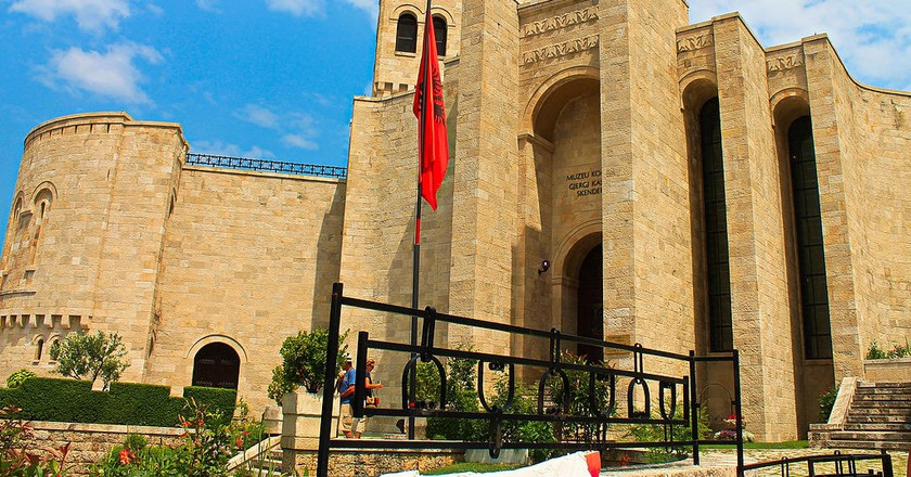 Skanderbeg Museum in Kruja, one of the most interesting museums of Albania