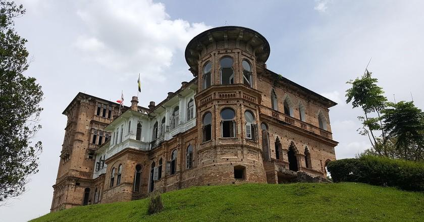 Kellie's unfinished mansion located in Batu Gajah, Perak