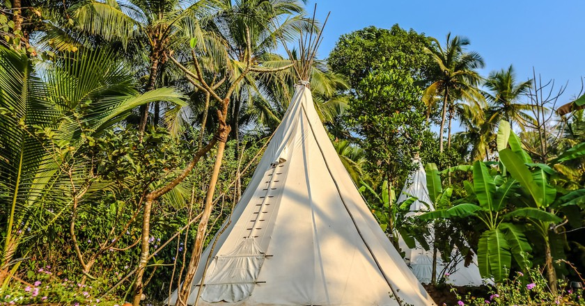 La Mangrove is one of the best eco-firendly glamping sites in Goa