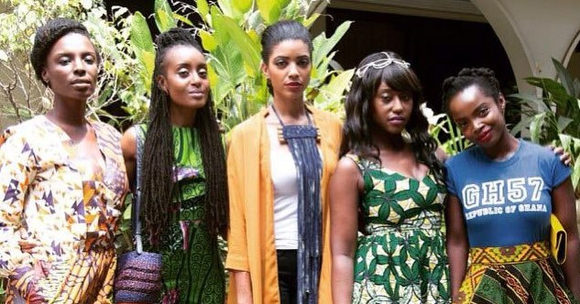 The cast of 'An African City'