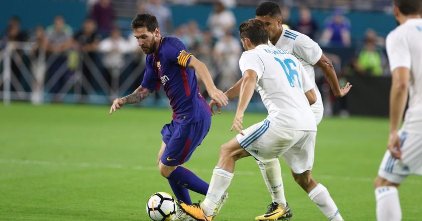 Barcelona vs. Real Madrid | © Marc Serota/AP Images for International Champions Cup