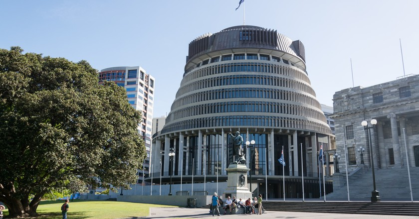 The home of politics in NZ