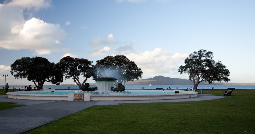 Mission Bay Fountain