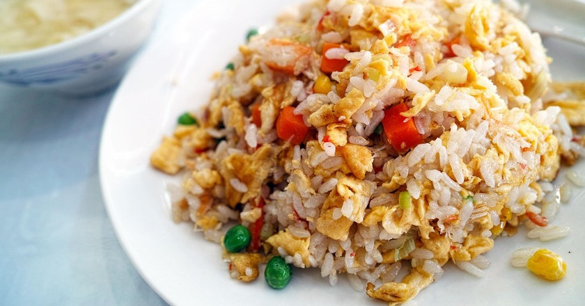 Fried rice, a classic of Chinese cuisine