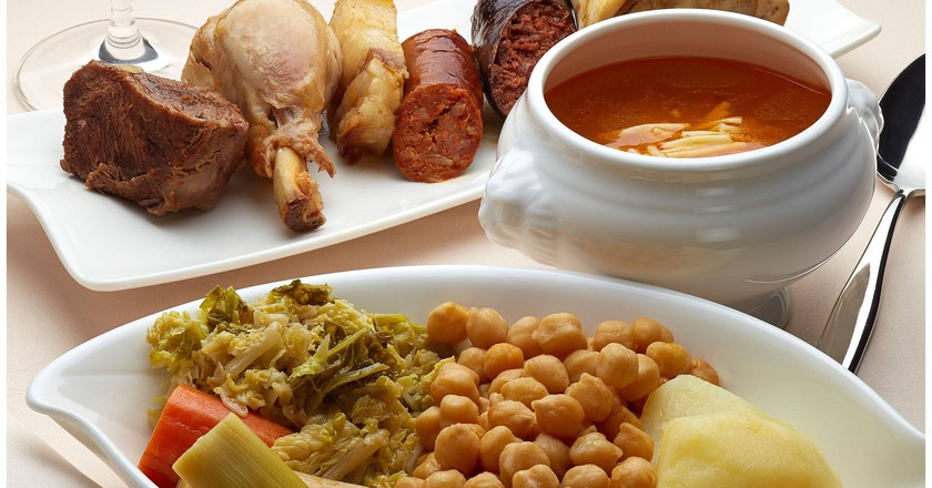 Dine at Restaurante As de Picas in Gijon, Spain