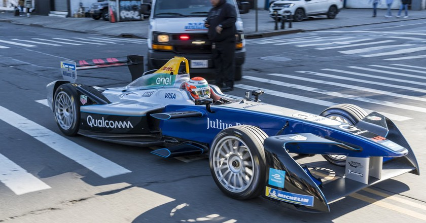 Formula E parade in New York City | © Formula E