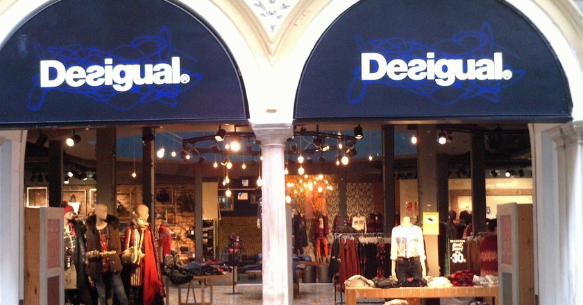 A Desigual store in Seville, Spain