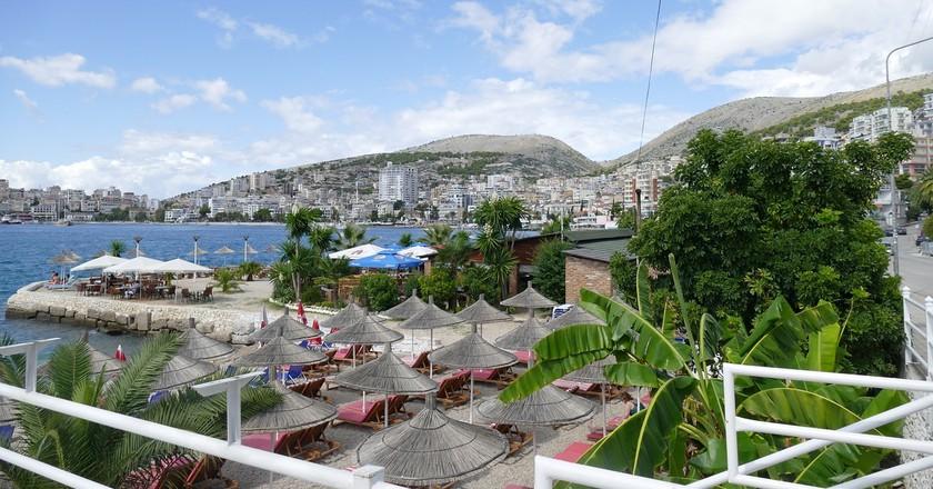 Saranda is the main town located along the Albanian Riviera