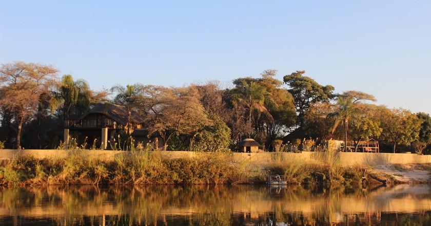The landscape along the Cunene River, Namibia