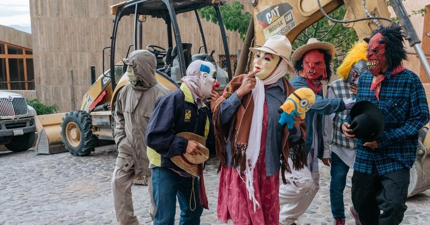 A Glimpse into the Carnival of the Ancestors, Mexico