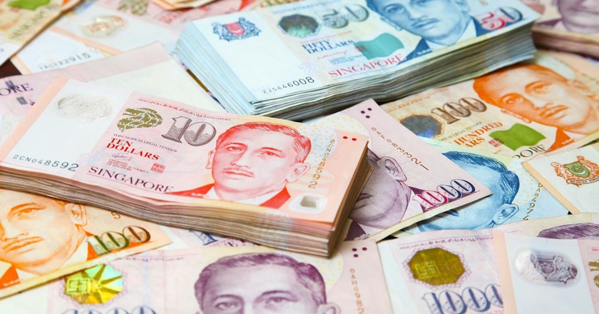 Singapore currency – the banknotes Portrait Series