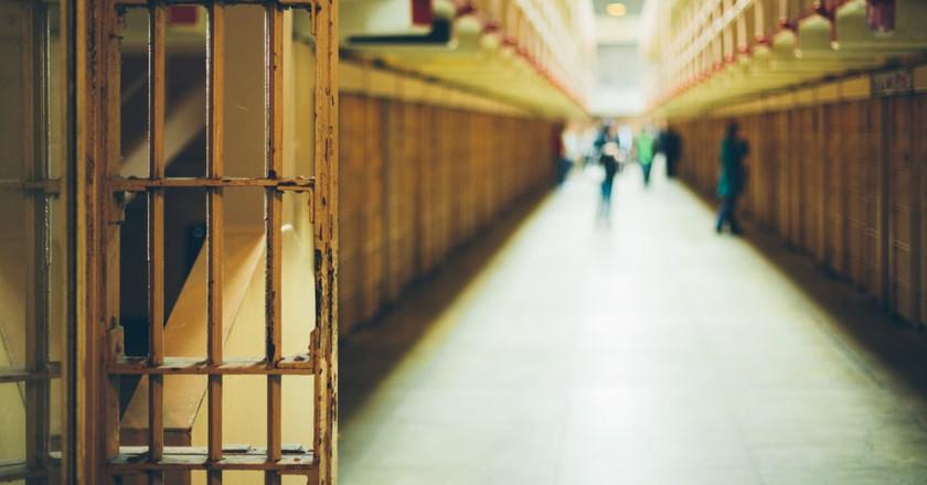 Corridor in a penitentiary