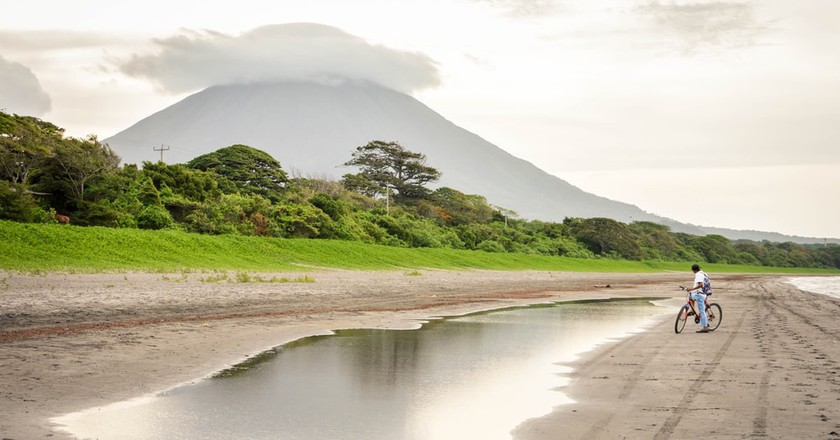 Volcanic landscape of Ometepe Island, Nicaragua