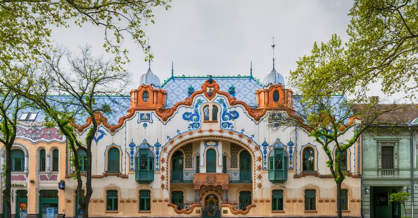 The Raichle palace in Subotica, Serbia