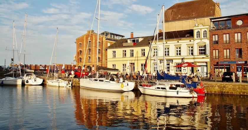 Stralsund port