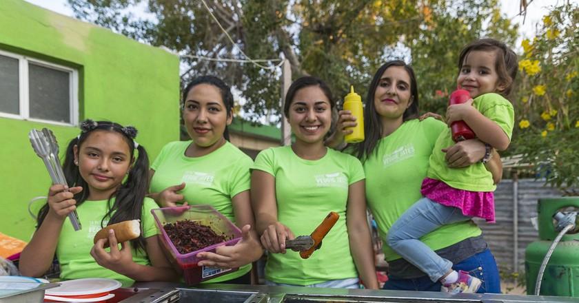 The Veggie Jates team | ©Pedro Fernandez de la Vega