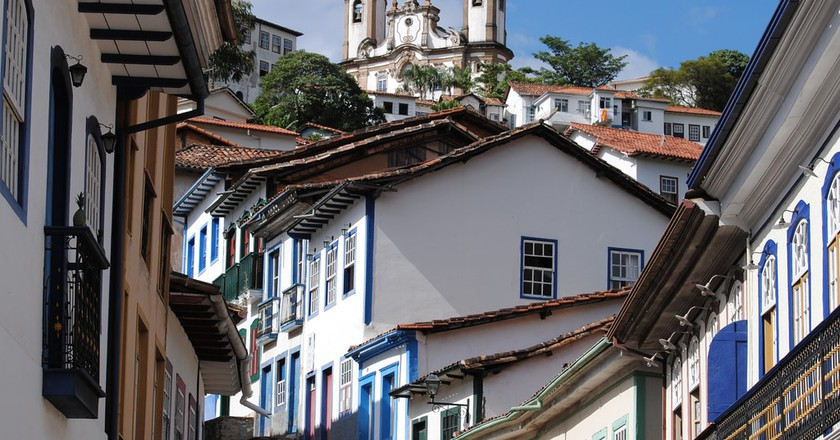 The picturesque city of Ouro Preto
