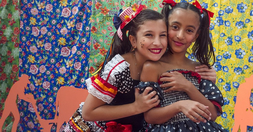 The costumes of Festa Junina in Brazil