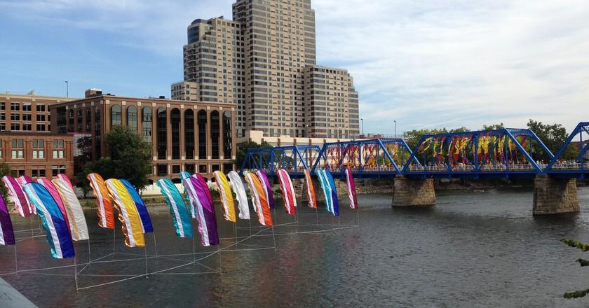 ArtPrize on the Blue Bridge