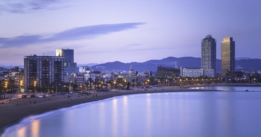 View of the Barceloneta © Jimmy Baikovicius